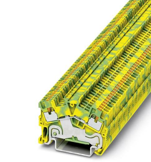 PTS 1,5/S-PE - Schutzleiter-Reihenklemme PTS 1,5/S-PE Phoenix Contact Grün-Gelb Inhalt: 50 St.