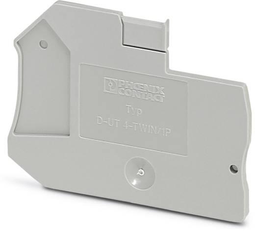 D-UT 4-TWIN/ 1P - Abschlussdeckel D-UT 4-TWIN/ 1P Phoenix Contact Inhalt: 50 St.