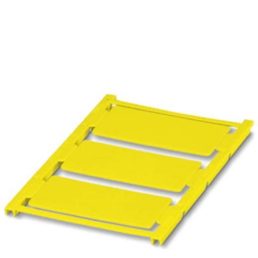 Gerätemarkierung Montage-Art: aufkleben Beschriftungsfläche: 60 x 30 mm Passend für Serie Universaleinsatz Gelb Phoenix