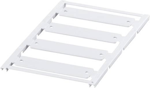 Gerätemarkierung Montage-Art: aufclipsen Beschriftungsfläche: 50 x 15 mm Passend für Serie Geräte und Schaltgeräte Weiß