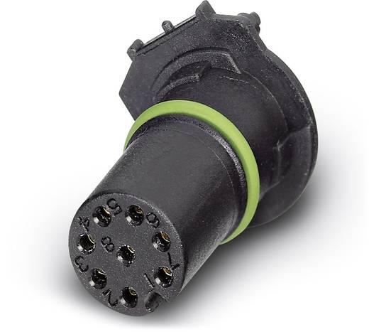 Sensor-/Aktor-Einbausteckverbinder M12 Buchse, Einbau Polzahl: 8 Phoenix Contact 1557808 SACC-CI-M12FS-8CON-L180-THR 60