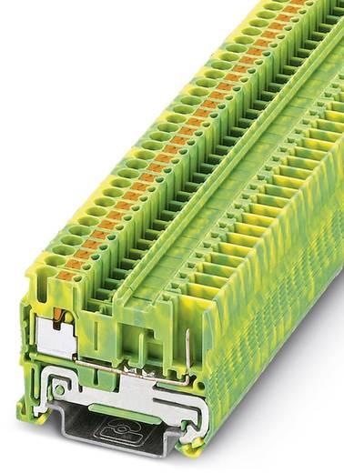 PT 2,5/1P-PE - Schutzleiter-Reihenklemme PT 2,5/1P-PE Phoenix Contact Grün-Gelb Inhalt: 50 St.