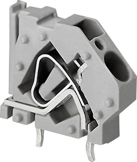 Federkraftklemmblock 6.00 mm² Polzahl 1 WAGO Grau 1 St.
