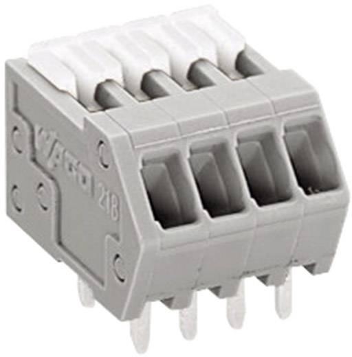Federkraftklemmblock 0.50 mm² Polzahl 5 WAGO Grau 1 St.