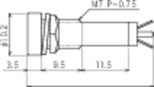 Standard Signalleuchte mit Leuchtmittel Rot B-406 24V RED Sedeco 1 St.