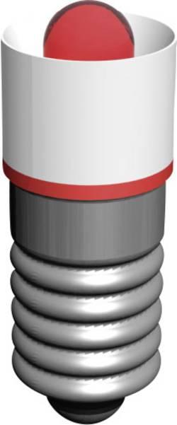 Ampoule LED Culot: E5.5 Signal Construct MEDE5503 rouge 18 V/AC 1 pc(s)