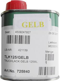 Vernis rouge pour ampoules bouteille de 125 ml TLK125/ROT