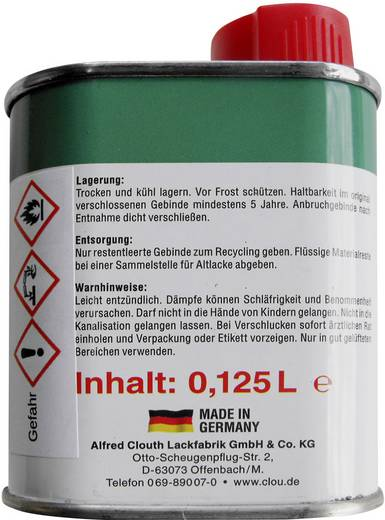 Glühlampen-Tauchlack 250 ml Gelb TLK250/GELB CLOU
