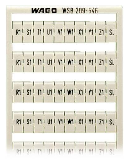 WSB-Schnellbeschriftungssystem 209-546 WAGO Inhalt: 5 St.