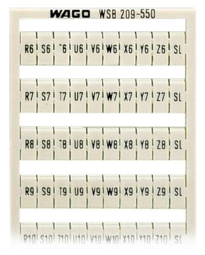 WSB-Schnellbeschriftungssystem 209-550 WAGO Inhalt: 5 St.