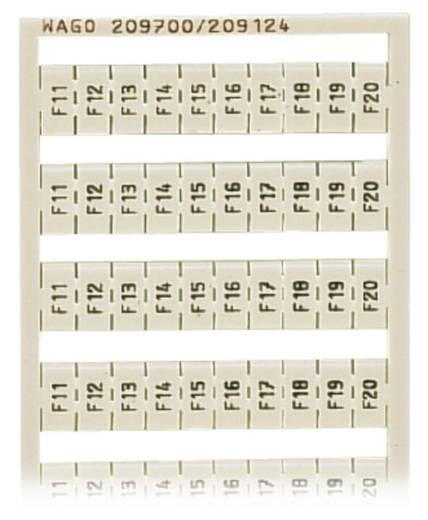 WSB-Schnellbeschriftungssystem 209-700/209-124 WAGO Inhalt: 5 St.