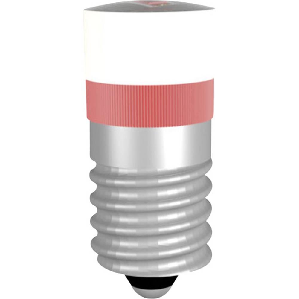 Ampoule led culot e10 signal construct mwce22049 rouge 24 - Ampoule led e10 230v ...