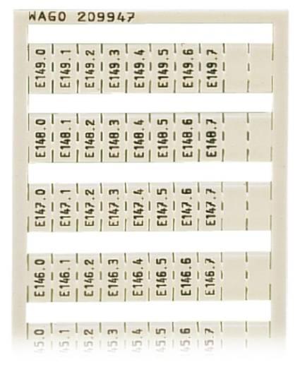 WSB-Schnellbeschriftungssystem 209-947 WAGO Inhalt: 5 St.