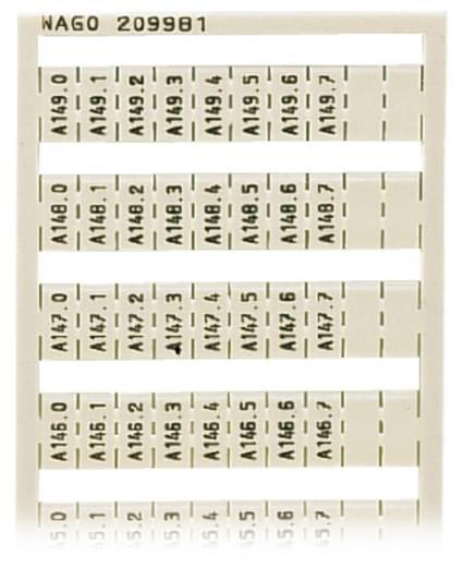WSB-Schnellbeschriftungssystem 209-981 WAGO Inhalt: 5 St.