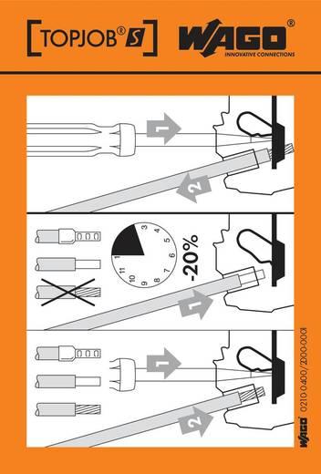 Handhabungsaufkleber 210-400/2000-001 WAGO Inhalt: 100 St.