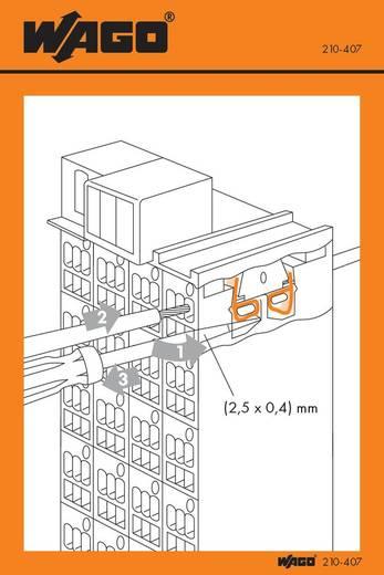 Handhabungsaufkleber WAGO Inhalt: 100 St.