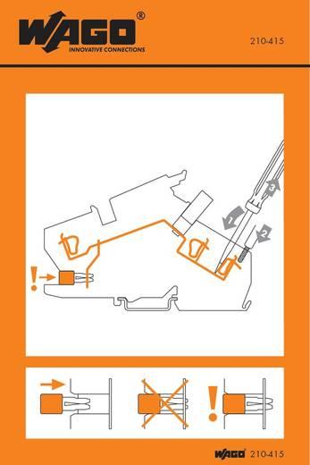 Handhabungsaufkleber 210-415 WAGO Inhalt: 100 St.