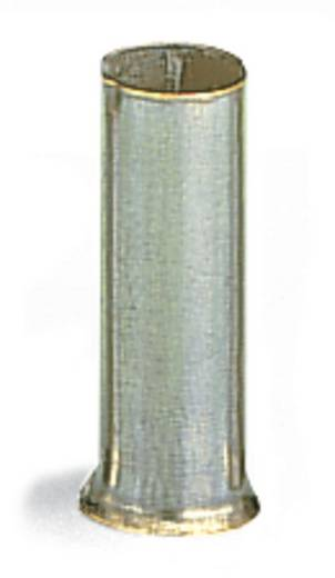 Aderendhülse 1 x 10 mm² x 12 mm Unisoliert Metall WAGO 216-109 250 St.