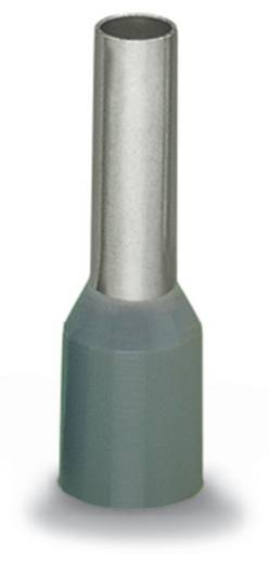 Aderendhülse 1 x 4 mm² x 20 mm Teilisoliert Grau WAGO 216-287 500 St.