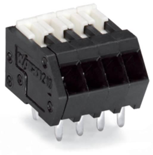 Federkraftklemmblock 0.50 mm² Polzahl 7 WAGO Schwarz 240 St.