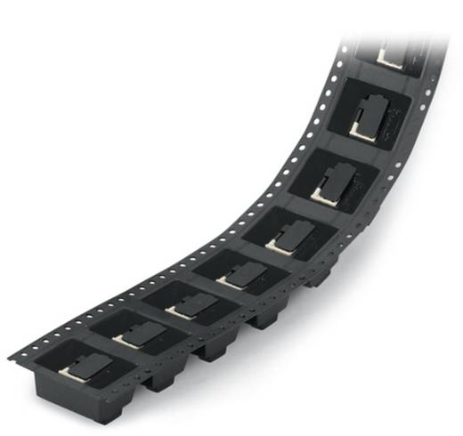 Federkraftklemmblock 0.50 mm² Polzahl 4 218-504/000-604/997-405 WAGO Schwarz 250 St.