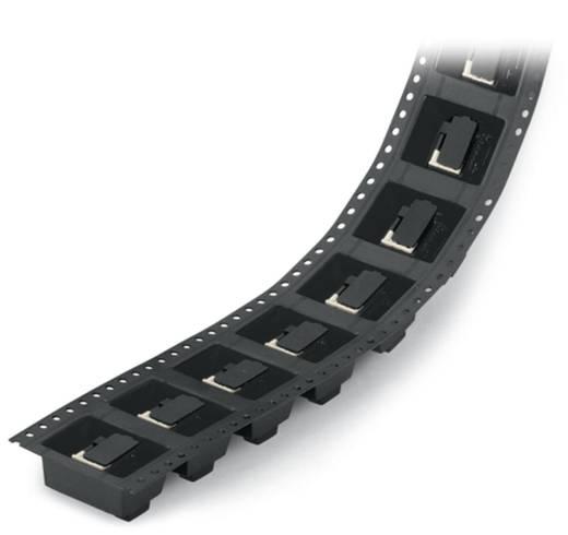 Federkraftklemmblock 0.50 mm² Polzahl 7 WAGO Schwarz 250 St.