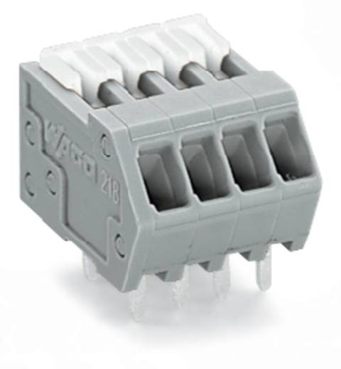 Federkraftklemmblock 0.50 mm² Polzahl 21 WAGO Grau 80 St.