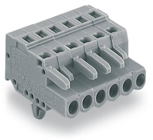 Buchsengehäuse-Kabel 231 Polzahl Gesamt 4 WAGO 231-104/008-000 Rastermaß: 5 mm 100 St.