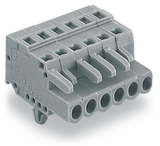 WAGO 231-109/008-000 Buchsengehäuse-Kabel 231 Polzahl Gesamt 9 Rastermaß: 5 mm 50 St.