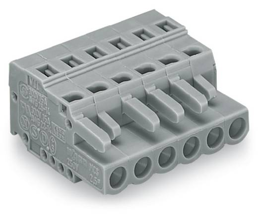 Buchsengehäuse-Kabel 231 Polzahl Gesamt 5 WAGO 231-105/026-000 Rastermaß: 5 mm 100 St.
