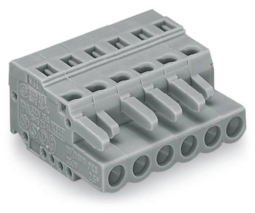 WAGO Buchsengehäuse-Kabel 231 Polzahl Gesamt 6 Rastermaß: 5 mm 231-106/102-000 50 St.