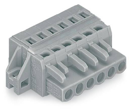 WAGO Buchsengehäuse-Kabel 231 Polzahl Gesamt 24 Rastermaß: 5 mm 231-124/027-000 10 St.