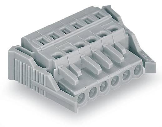 Buchsengehäuse-Kabel 231 Polzahl Gesamt 6 WAGO 231-106/038-000 Rastermaß: 5 mm 50 St.