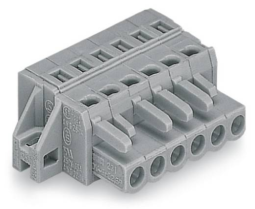 WAGO Buchsengehäuse-Kabel 231 Polzahl Gesamt 14 Rastermaß: 5 mm 231-114/031-000 25 St.