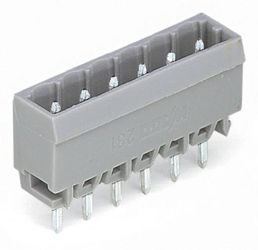 WAGO Stiftleiste (Standard) 300 Polzahl Gesamt 24 Rastermaß: 5 mm 231-154/001-000 50 St.