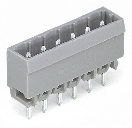 WAGO Stiftleiste (Standard) 300 Polzahl Gesamt 6 Rastermaß: 5 mm 231-166/001-000 200 St.