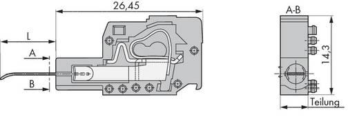 Buchsengehäuse-Platine 300 Polzahl Gesamt 1 WAGO 231-161 Rastermaß: 7.50 mm 100 St.