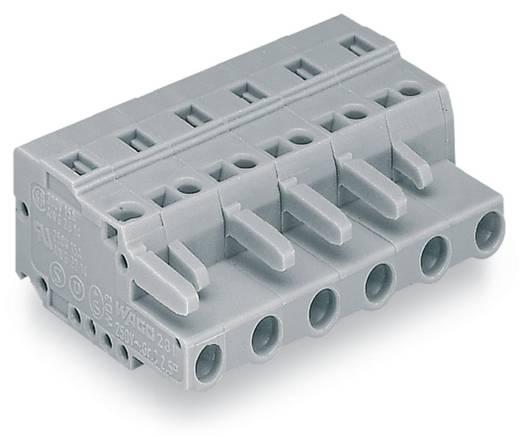 WAGO Buchsengehäuse-Kabel 231 Polzahl Gesamt 10 Rastermaß: 7.50 mm 231-210/026-000 25 St.