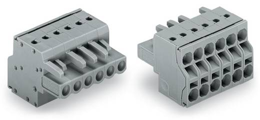 Buchsengehäuse-Kabel 231 Polzahl Gesamt 2 WAGO 231-2102/026-000 Rastermaß: 5 mm 100 St.