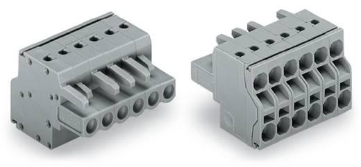 WAGO Buchsengehäuse-Kabel 231 Polzahl Gesamt 6 Rastermaß: 5 mm 231-2106/026-000 50 St.