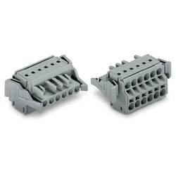 Zásuvkové púzdro na kábel WAGO 231-2106/037-000, 46.55 mm, pólů 6, rozteč 5 mm, 50 ks