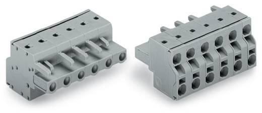 WAGO Buchsengehäuse-Kabel 231 Polzahl Gesamt 7 Rastermaß: 7.50 mm 231-2207/026-000 50 St.