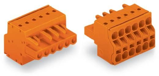 Buchsengehäuse-Kabel 231 Polzahl Gesamt 6 WAGO 231-2306/026-000 Rastermaß: 5.08 mm 50 St.