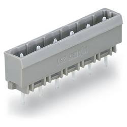 Pinová lišta (štandardná) WAGO 231-276/001-000, 120.5 mm, pólů 16, rozteč 7.50 mm, 50 ks