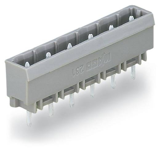 Stiftleiste (Standard) 300 Polzahl Gesamt 11 WAGO 231-271/001-000 Rastermaß: 7.50 mm 50 St.
