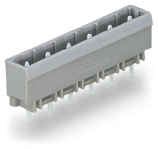 Stiftleiste (Standard) 300 Polzahl Gesamt 9 WAGO 231-239/001-000 Rastermaß: 7.50 mm 50 St.