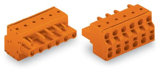 Buchsengehäuse-Kabel 231 Polzahl Gesamt 11 WAGO 231-2711/026-000 Rastermaß: 7.62 mm 25 St.