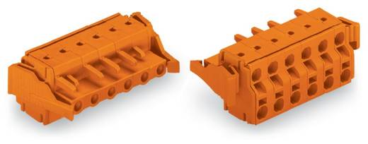 Buchsengehäuse-Kabel 231 Polzahl Gesamt 6 WAGO 231-2706/037-000 Rastermaß: 7.62 mm 25 St.