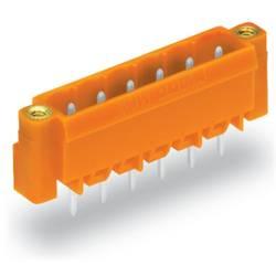 Pinová lišta (štandardná) WAGO 231-372/108-000, 70.96 mm, pólů 12, rozteč 5.08 mm, 100 ks