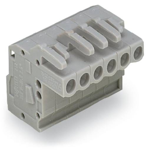 Buchsengehäuse-Kabel 232 Polzahl Gesamt 12 WAGO 232-112/026-000 Rastermaß: 5 mm 25 St.